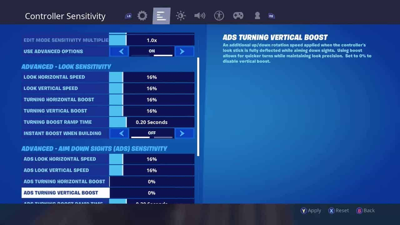 Best Settings for Fortnite on Laptop/PC